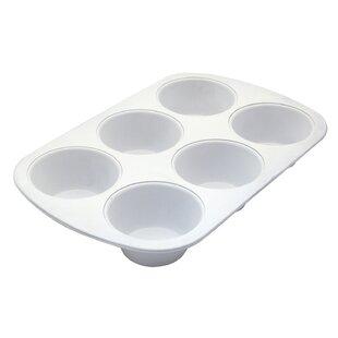 Cerama Bake 6 Cup Jumbo Muffin Pan