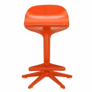 Spoon Stool- Adjustable Height & Swivel Kartell