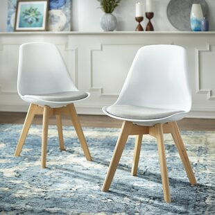 Norfolk Upholstered Dining Chair (Set of 2) Wrought Studio