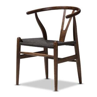 Kasha Studio Solid Wood Dining Chair by Mistana
