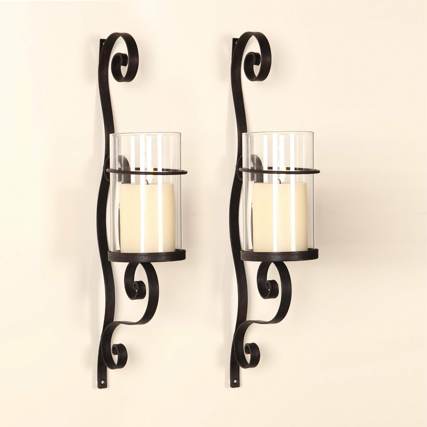 Merveilleux Red Barrel Studio Iron Wall Sconce Candle Holder U0026 Reviews | Wayfair