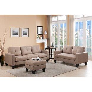 Bradford 3 Piece Living Room Set