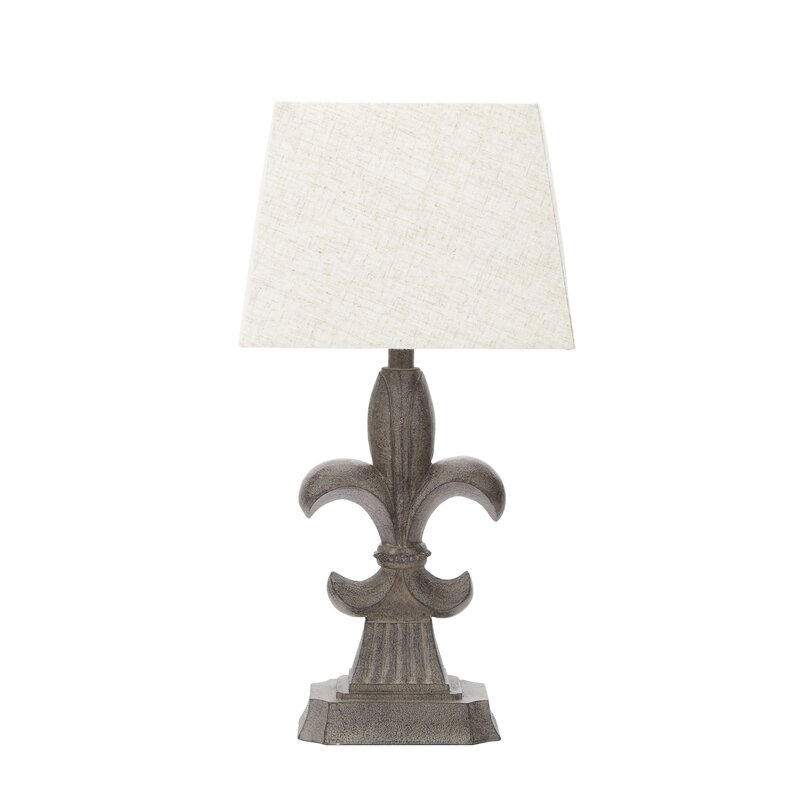Ophelia co frankfort fleur de lis accent 19 table lamp reviews frankfort fleur de lis accent 19 table lamp aloadofball Choice Image