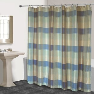 Exceptional Dempsey Plaid Shower Curtain