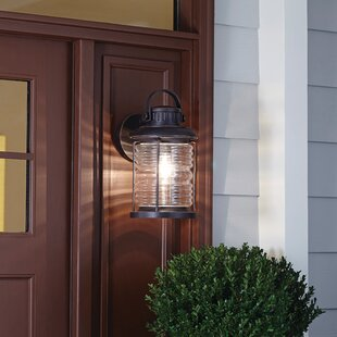 Bargain Clare Outdoor Wall Lantern By Breakwater Bay