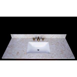 Look for Cortona 49 Single Bathroom Vanity Top ByRenaissance Vanity