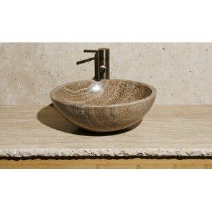 Affordable Stone Circular Vessel Bathroom Sink ByAllstone Group