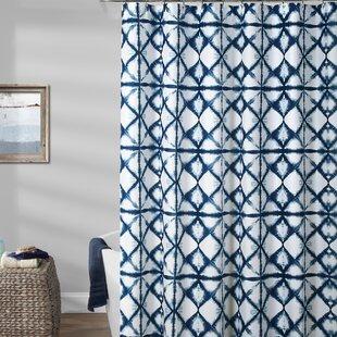 Rizzi Shibori Shower Curtain ByWorld Menagerie