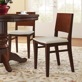 Beechwood Solid Back Seat Upholstered Dining Chair by Regal