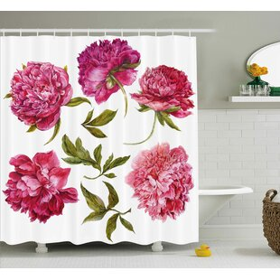 Spring Buds Shower Curtain + Hooks
