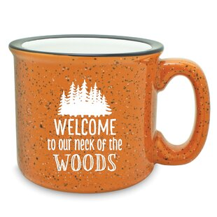 Claude Our Neck of the Woods Camp Coffee Mug