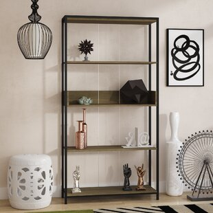 Damiano Etagere Bookcase by Ebern Designs Today Sale Only