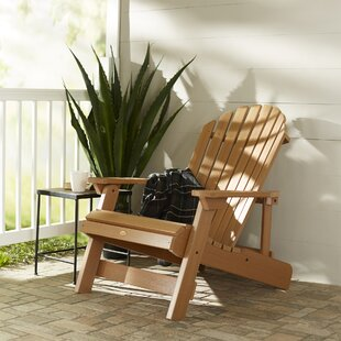 Anette Plastic Folding Adirondack Chair