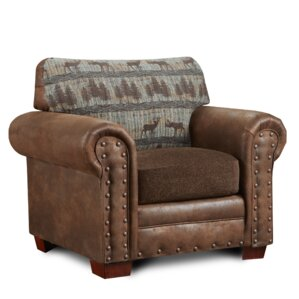 Deer Lodge Upholstered Armchair by American ..