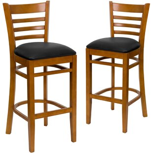 Loughran 31 Bar Stool (Set of 2) Red Barrel Studio