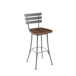 Price comparison Glenham 30 Swivel Bar Stool by Gracie Oaks Reviews (2019) & Buyer's Guide