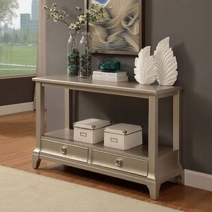 Clever Contemporary Console Table By House of Hampton