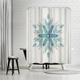 David Fleck Drift Single Shower Curtain