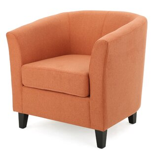 Incroyable Burnt Orange Accent Chair | Wayfair