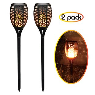Reviews Solar Garden LED Pathway Light (Set of 2) By Abble Inc.