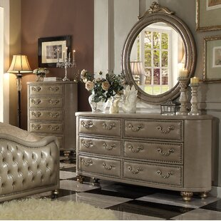 Simmons 6 Drawer Double Dresser