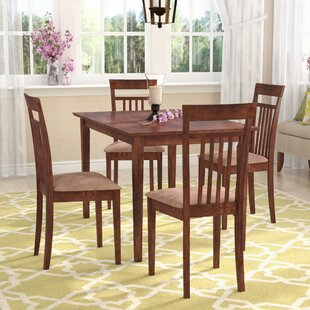 Galeton 5 Piece Dining Set Red Barrel Studio
