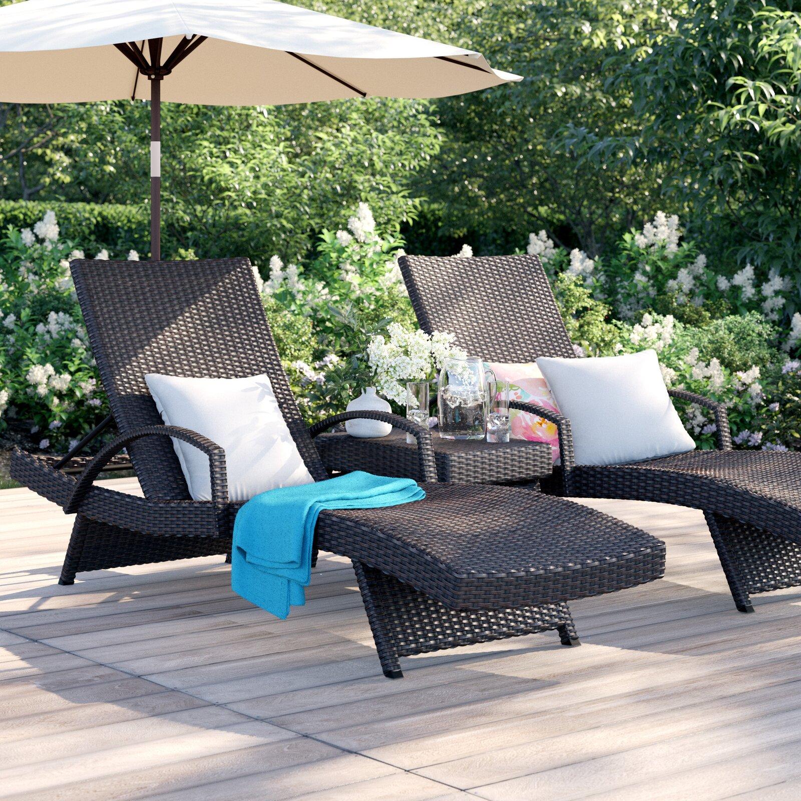Robello Chaise Lounge Chair Outdoor