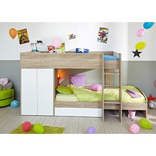 Stim Twin Over Twin Bunk Bed by Parisot Discount
