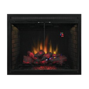 Huckins Dual Voltage Option Traditional Built-in Wall Mounted Electric Fir..