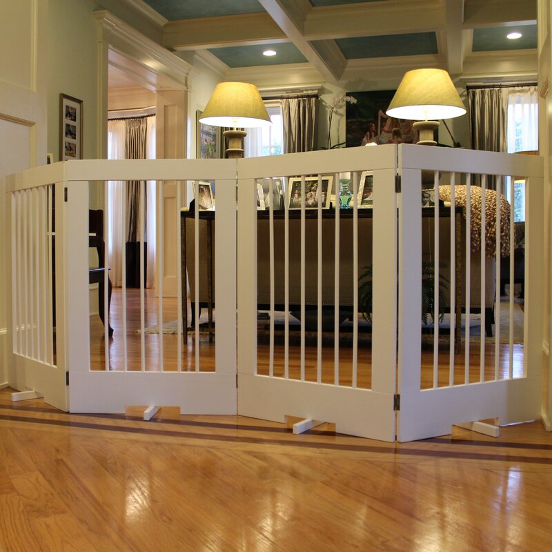 Ordinaire 4 Panel Tall Pet Gate
