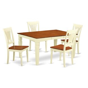 Armadillo 5 Piece Dining Set DarHome Co