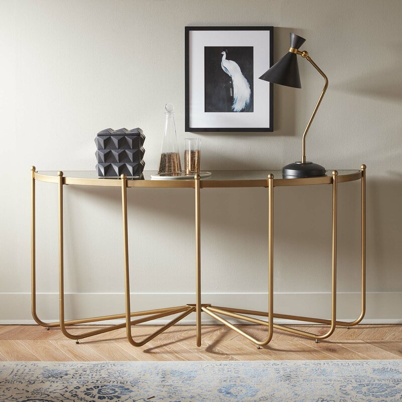 Roder Console Table glass console tables Discover 5 Stunning Glass Console Tables Roder Console Table