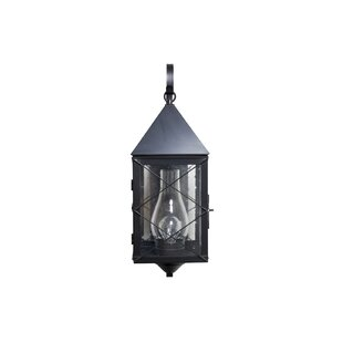 Affordable Michaela 1-Light Outdoor Wall Lantern By Longshore Tides