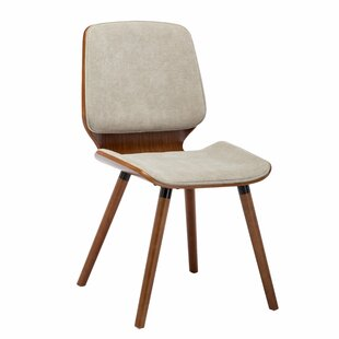 Javion Wood Upholstered Dining Chair by George Oliver