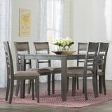 Grey Kitchen & Dining Room Sets You\'ll Love in 2019 | Wayfair