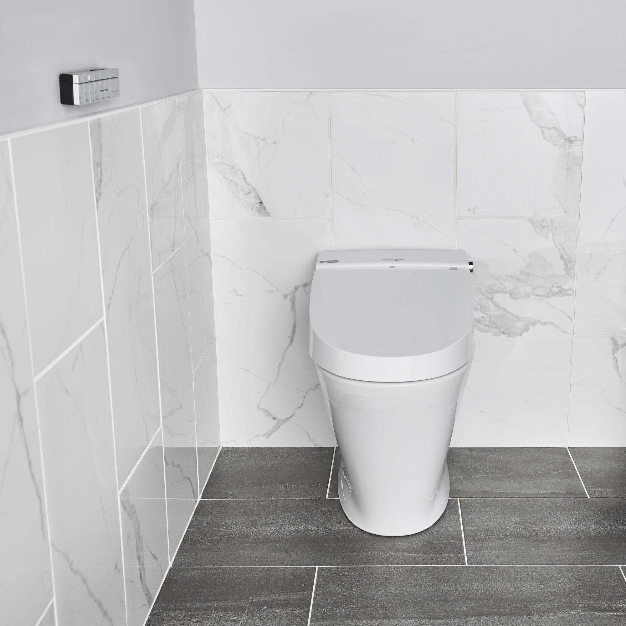 American Standard Advanced Clean 100 Spalet Elongated Toilet Seat Bidet Wayfair