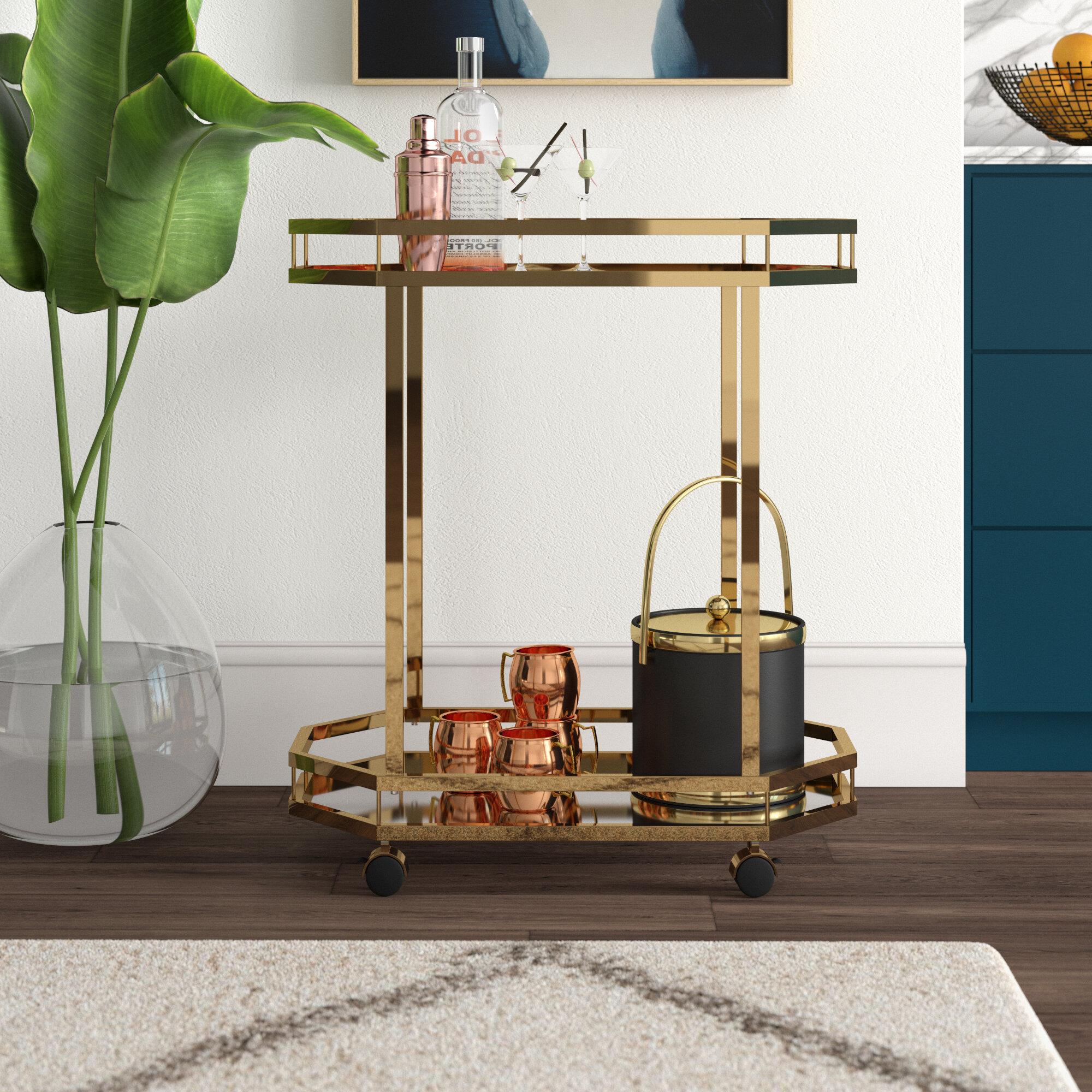 Wayfair Modern Contemporary Bar Carts You Ll Love In 2021
