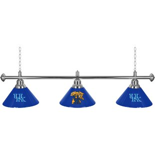 University of Kentucky 3-Light Billiard Light by Trademark Global