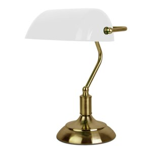 Bankers Touch 37cm Table Lamp