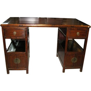 Acrodectes Partner Executive Desk by Bloomsbury Market Great Reviews