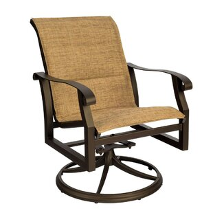 Purchase Cortland Swivel Patio Dining Chair Good price