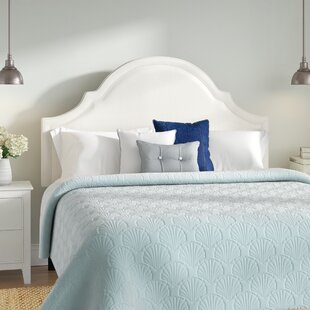 Affordable Calvert Upholstered Panel Headboard by Beachcrest Home