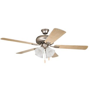 Price comparison 52 Jeffcoat 5-Blade Ceiling Fan By Alcott Hill