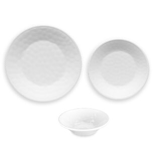 Exmore 12 Piece Melamine Dinnerware Set, Service for 4