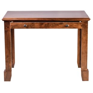 Jeremy Knob Drawer Writing Desk by Millwood Pines Today Only Sale
