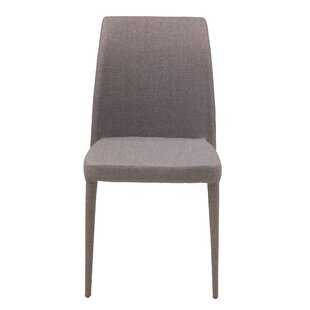 Check Prices Pavonia Upholstered Dining Chair (Set of 2) by Wrought Studio Reviews (2019) & Buyer's Guide