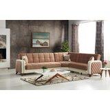 Charmel 103 Wide Reversible Sleeper Corner Sectional by Latitude Run®