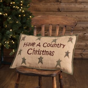 Alter Country Christmas Lumba Pillow