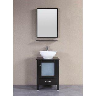 Signature Series 22 Single Modern Freestanding Bathroom Vanity Set by Belvedere Bath