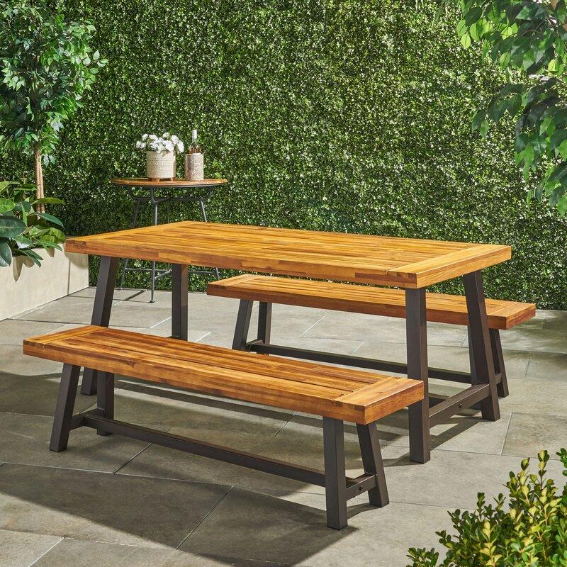 Trent Austin Design Bartlesville 3 Piece Dining Set & Reviews